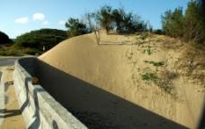 墾丁沙丘图片