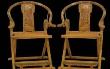 老挝红酸枝 弯脚椅图片