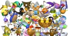 3D动物图片