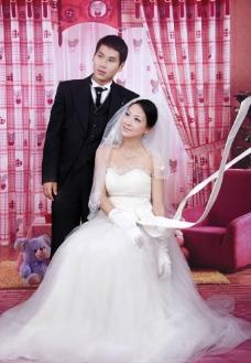 现代婚纱摄影图片