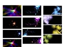 炫彩光效背景素材图片