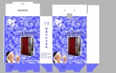 健康活化直钦机外包装设计图片