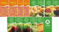 超市水果柱子贴图片