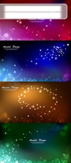炫彩光效背景素材 01