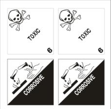 化工安全标识图标图片
