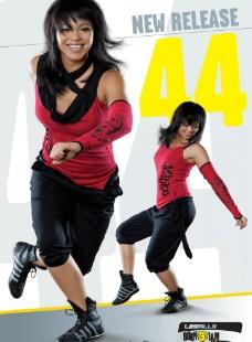 缩合舞蹈形象海报图片
