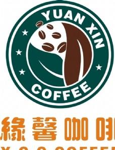 缘馨咖啡LOGO