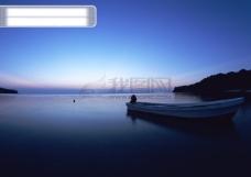 高清风景素材-晨光山水