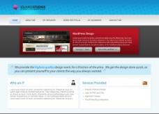 大气的企业网站图片