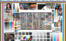 印刷测试样张880×590图片