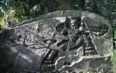 鬼王石刻图片