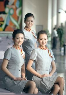 海南航空空姐图片图片
