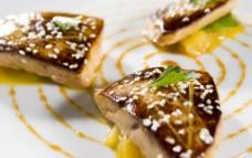 西餐法菜煎鹅肝图片