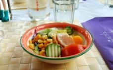 生菜沙拉图片