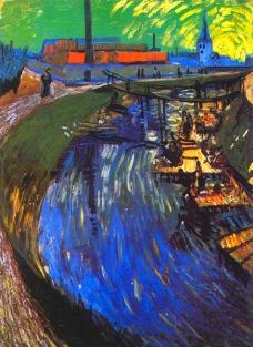 运河和洗衣妇图片