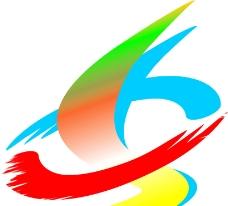 七色标志设计图片