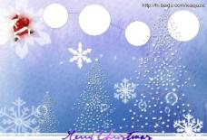 圣诞 7寸相册模版图片