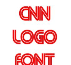 CNN LOGO字体