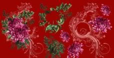 可组合的时尚花卉素材图片