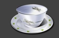 PSD制作茶杯图片