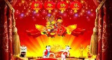 春节新年背景图片
