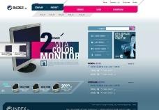 电子 商务网页模版图片