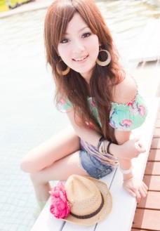 亚洲美女写真图片