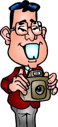 卡通相机镜头图片素材