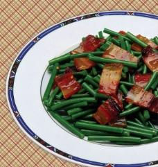 蒜苗腊肉菜谱图片
