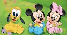 迪斯尼高菲米老鼠图片