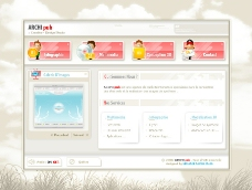 灰色调精致WEB设计PSD分层源文件图片