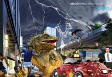 巨蜥入侵之横行霸道图片