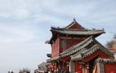 泰山建筑图片