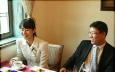 亚洲美女写真 韩国 商务人员 会客宴图片