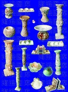 贝壳艺术品图片