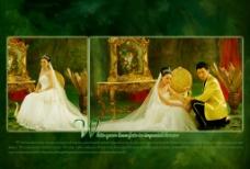 皇室白纱情缘图片