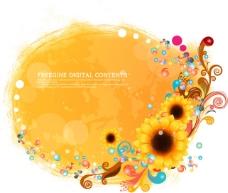 浅黄向日葵