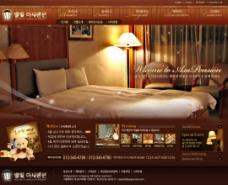 装饰设计/洒店设计网站模板首页设计