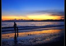 纳凉三亚湾图片