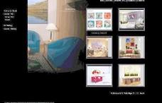 床上用品 纺织 英文外贸网站效果图图片