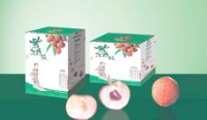水果荔枝包装(原文件全分层)图片