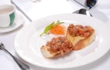 意式蔬菜面包图片