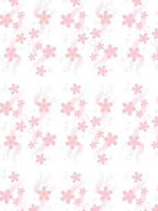 日式风格樱花底图图片