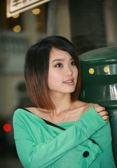 亚洲美女写真 中国 MIKO 倩影图片