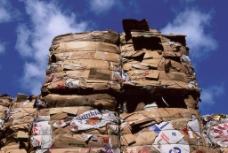 垃圾 废纸 回收 工业图片