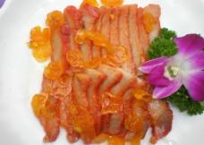 澳门柑桔烧猪颈肉图片