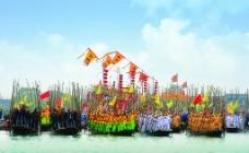 中国姜堰溱潼会船节图片