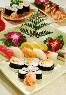 寿司 什锦寿司图片
