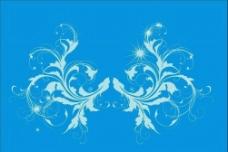 30 白色透明花纹图片