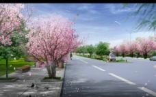 春景(春暖花开)图片